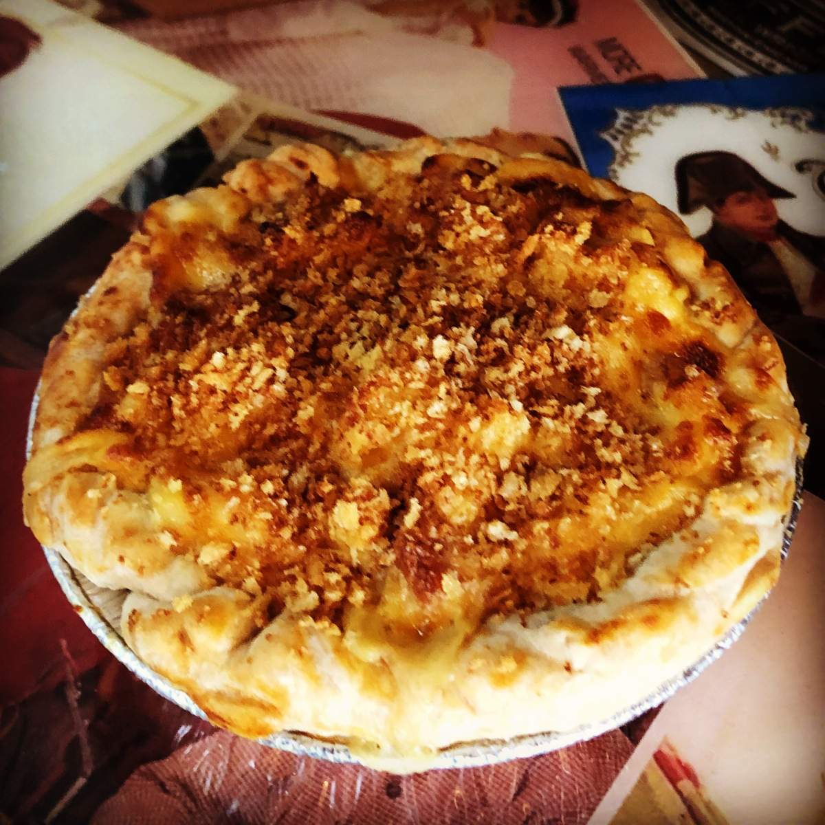 Mac 'n Cheese Pot Pie